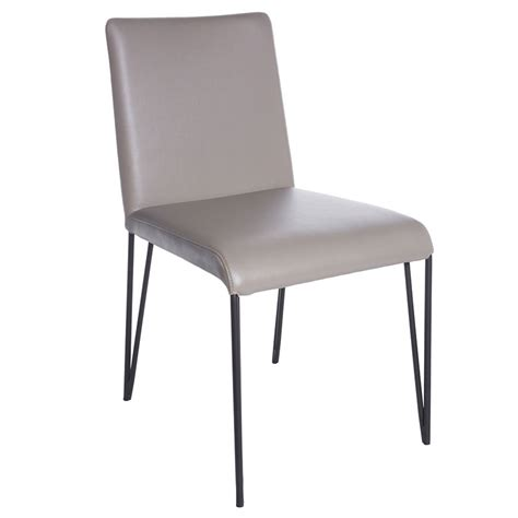Taupe Dining Chairs by Modern Dining Chairs Amir Taupe Side Chair Eurway