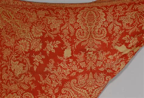 red coverlets lot 852 2 jacquard coverlets red blue