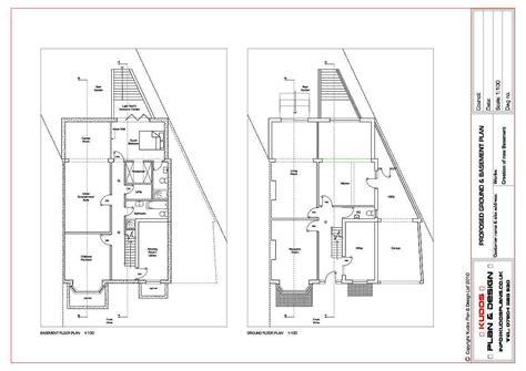 vertical title block title block architecture plan   plan