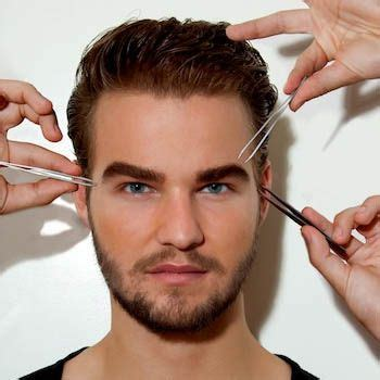 masculine eyebrow styles for men eyebrow maintenance for men fashion central