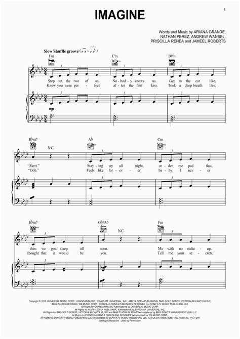 Imagine Piano Sheet Music | OnlinePianist