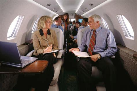 zakenreis met een prive jet  class aviation