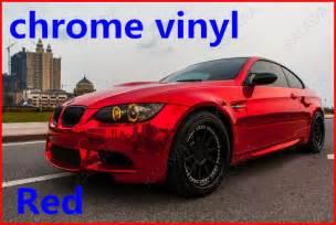 Black 2012 Mustang Alfa Img Showing Gt Red Chrome Vinyl Car Wrap