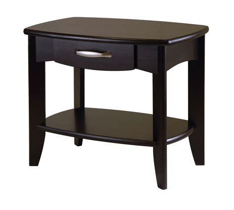 small wood end tables best coffee tables home goods