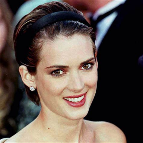 gq hairstyles winona mn winona ryder s changing looks instyle com