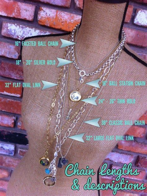 Origami Owl Chain Lengths - origami owl what story will your living locket tell