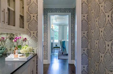 Scenery Wallpaper Wallpaper Kitchen Backsplash | butler pantry with mirrored backsplash and galbraith and