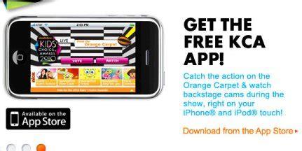 fans choice tv app choice awards 2010 iphone app free