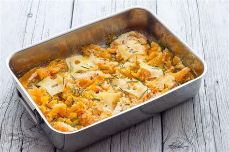 come cucinare la zucca al forno zucca gratinata ricetta