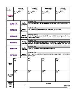 common standards lesson plan template 134 best common lesson plan templates images on