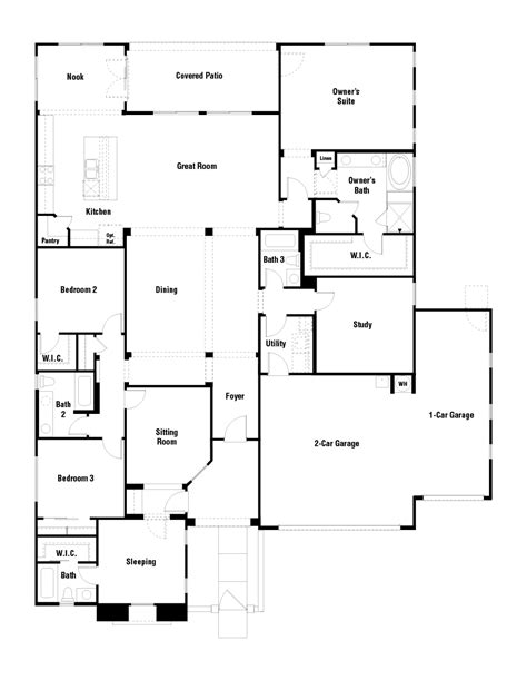 Taylor Morrison Homes Floor Plans adelaide plus floor plan at layton lakes summit collection