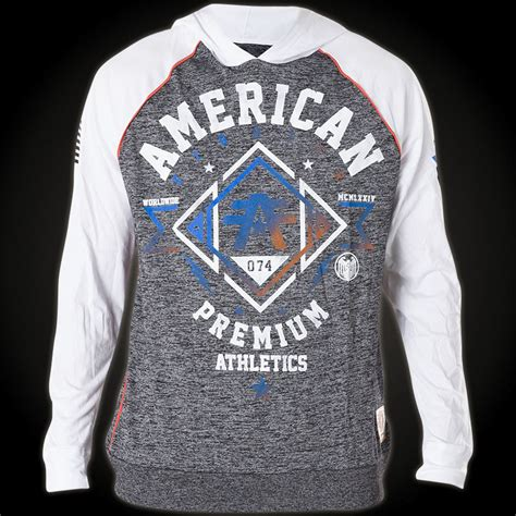 american fighter by affliction hoody with lots of lettering