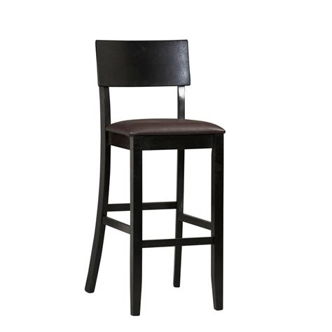 home decorators collection bar stools home decorators collection torino contemporary bar stool 01855blk 01 kd u the home depot