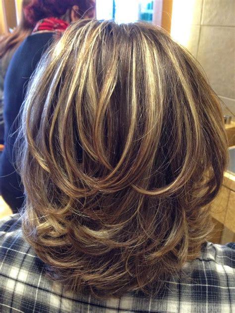 highlight rambut pendek 15 model rambut layer panjang dan pendek