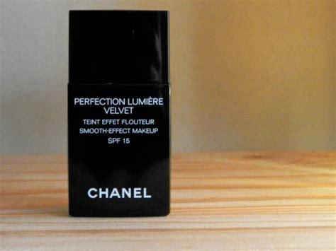 Chanel Perfection Lumiere Velvet Foundation chanel perfection lumiere velvet foundation not another poppie
