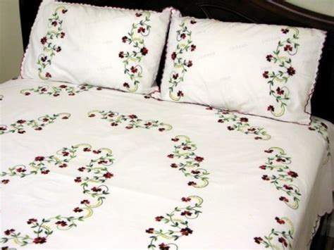 bed sheet embroidery design embroidery designs bed sheets hand embroidery makaroka com