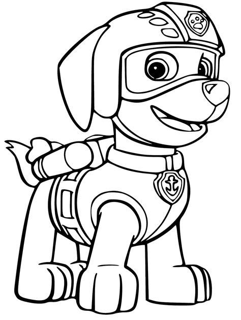zuma coloring page paw patrol zuma from paw patrol coloring page get coloring pages