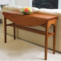 Diy Drop Leaf Table Build A Drop Leaf Console Table Diy Interior Home Projects Search Table Plans