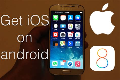 how to get ios on android how to make your android look like ios 8 works on any device