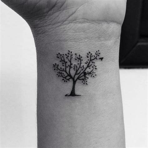 small tree tattoos 45 small tree of tattoos collection