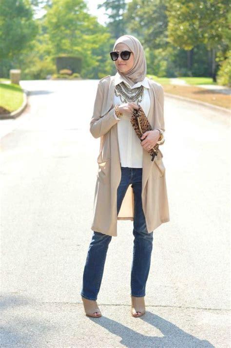 Kemeja Wanita Busana Wanita Fashion Wanita Casual Iscx257 Brown model baju muslim casual terbaru simple dan modern