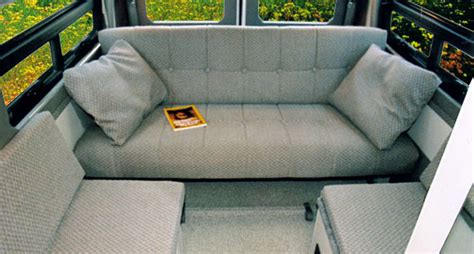 van sofa seat sprinter dyo 4 eb couches sportsmobile custom cer vans