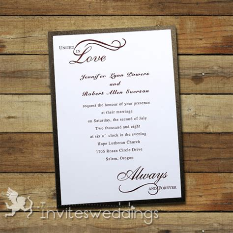 wedding invitation cheap