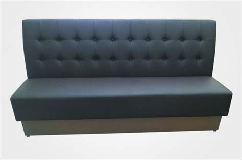 cafe bench seating restaurant soft bench seating with high back and wooden