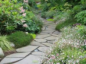 flagstone path garden paths pinterest