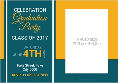 graduation card invitation template microsoft word 10 best graduation invitation card templates ms word