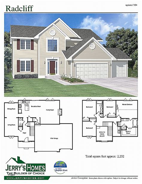house plan new one level house plans with 3 car garage