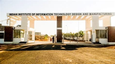 Iit Madras Mba Cut by Indian Institute Of Information Technology Design