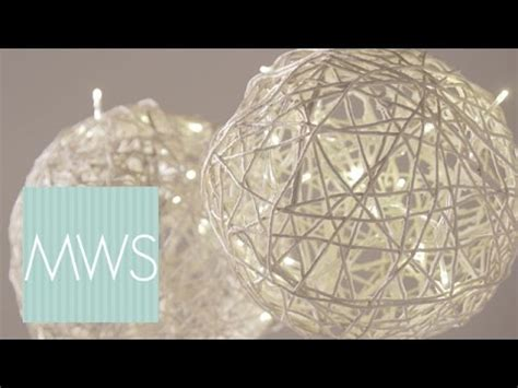 String Ball Wedding Decorations   Maid At Home 3   YouTube