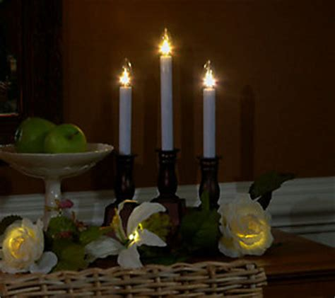 bethlehem lights candles window nib bethlehem lights set of 4 battery op window candles