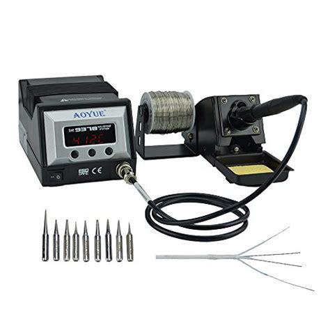Best Product Elemen Solder Dekko 100 Watt aoyue 9378 60 watt programmable digital soldering station esd safe includes 10 tips c f