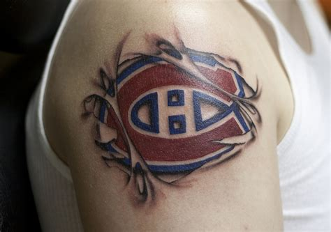tattoo quebec montreal 17 best images about montreal canadiens tattoos on