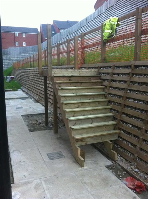 Timber Crib Retaining Walls by Steps On Timber Crib Walls Timber Crib Retaining Systems