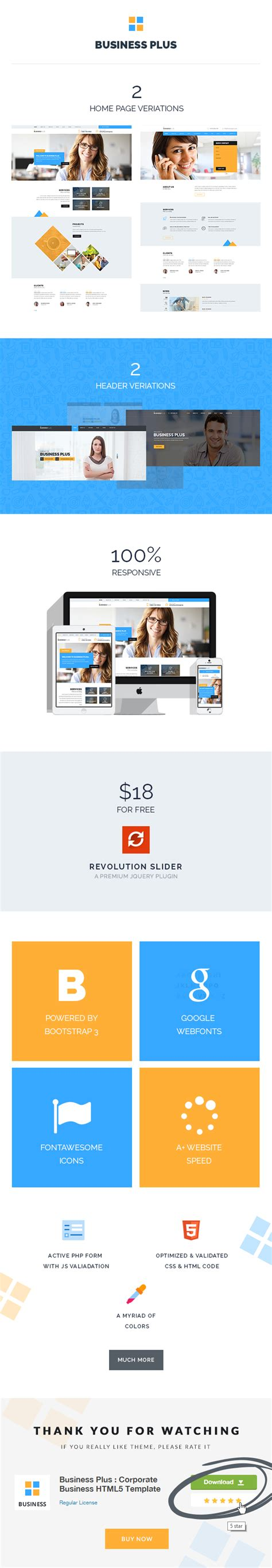 corporate html5 templates business plus corporate business html5 template by