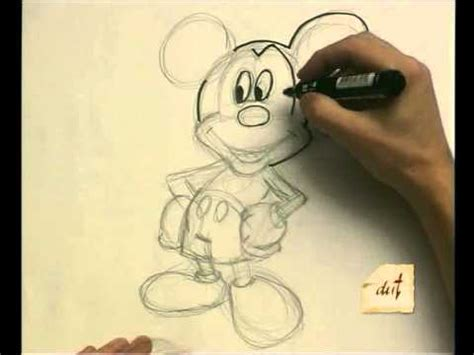 como dibujar con luz como dibujar mickey mouse youtube
