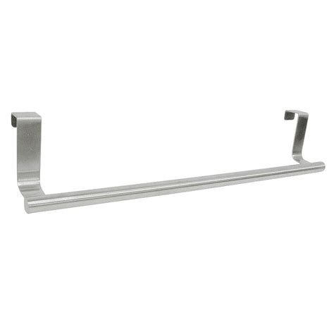 over the cabinet towel bar interdesign forma 14 in over the cabinet towel bar in