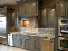 glazed taupe kitchen cabinets magnificent taupe with basements on pinterest basement bars basements and