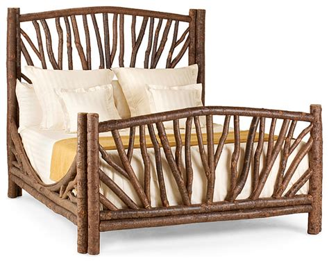 rustic bed 4304 by la lune collection rustic beds