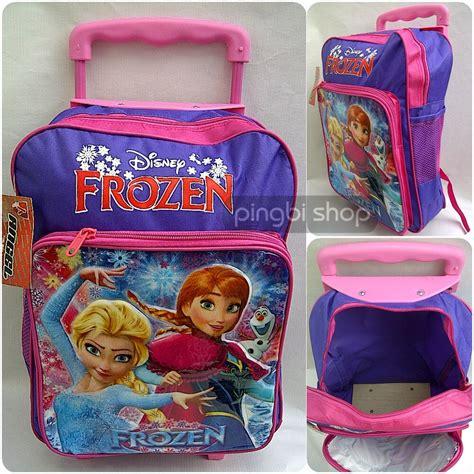 Tas Tk Paud Frozen jual tas troli ransel anak frozen harga terjangkau trolley bag usia tk sd baru tas anak