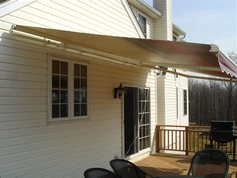 motorised awnings retractable awnings