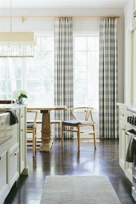 checked kitchen curtains 25 best ideas about buffalo check curtains on