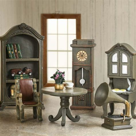 Dollhouse Living Room Furniture | dollhouse miniature living room furniture set living