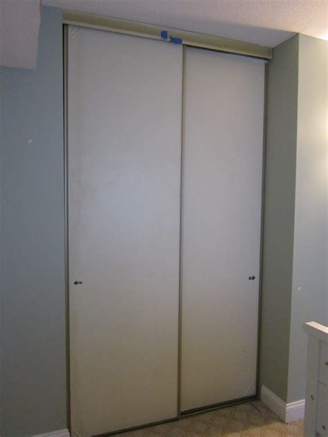 Sliding Closet Door Frame Plan Closet Door Curtain Track Roselawnlutheran