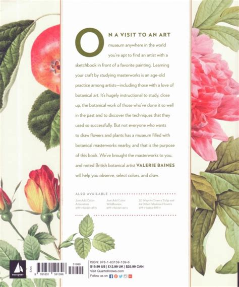 classic sketchbook botanicals secrets valerie baines