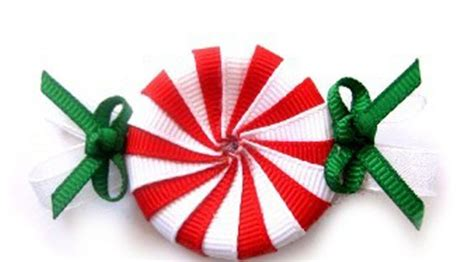 Green Gifts Hair Clip peppermint hair clip hair