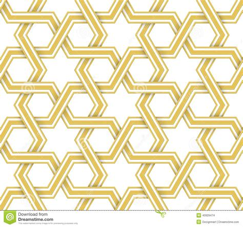 islamic style seamless pattern vector free download 16 gold islamic patterns vector images islamic